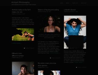 armpit.wordpress.com screenshot