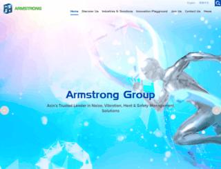 armstrong.com.sg screenshot