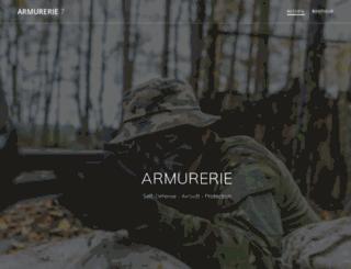 armurerie7riv.fr screenshot