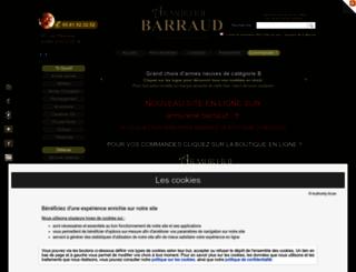armureriebarraud.com screenshot