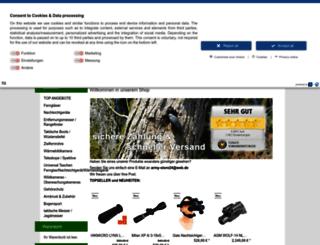 army-store24.de screenshot