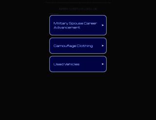 army-surplus.org.uk screenshot