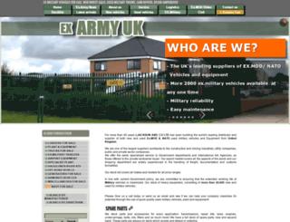 army-uk.info screenshot