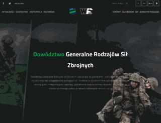 army.mil.pl screenshot