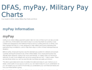 armypayguide.com screenshot