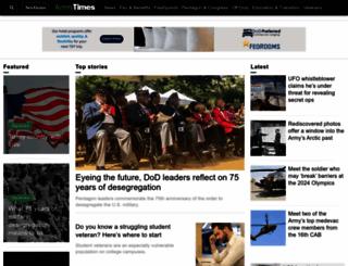 armytimes.com screenshot