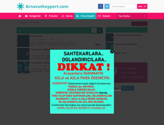 arnavutkoyport.com screenshot