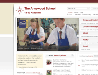 arnewood.net screenshot