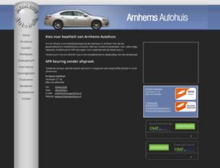 arnhemsautohuis.nl screenshot