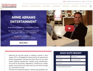 arnieabramspianist.com screenshot
