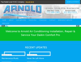 arnoldair.salessupplychain.com screenshot
