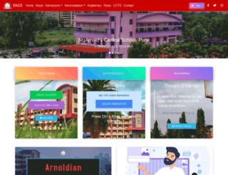 arnoldcentralschool.org screenshot