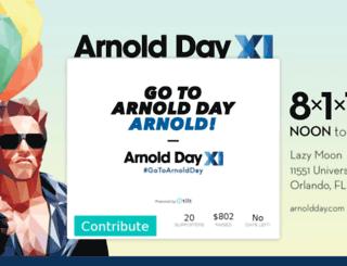 arnoldday.tilt.com screenshot