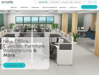 arnoldsofficefurniture.com screenshot