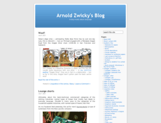 arnoldzwicky.wordpress.com screenshot