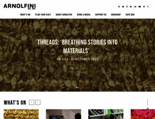 arnolfini.org.uk screenshot