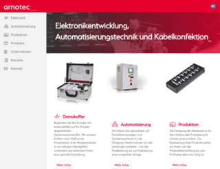 arnotec.de screenshot