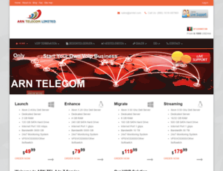 arntel.com screenshot