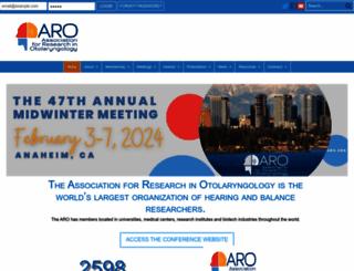 aro.org screenshot