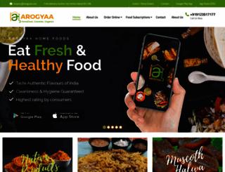 arogyaa.com screenshot
