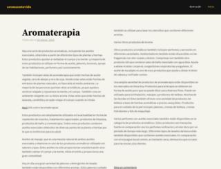 aromaentuvida.wordpress.com screenshot