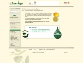 aromalium.com screenshot