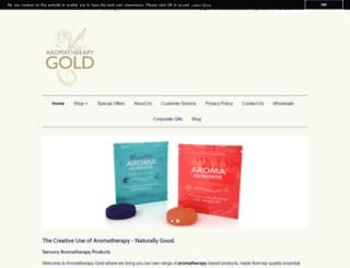 aromatherapygold.com screenshot