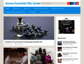 aromatherapypoint.com screenshot