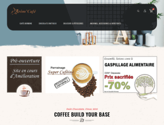 aromcafe.com screenshot