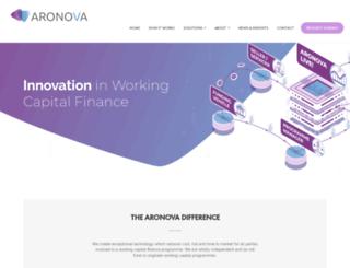 aronova.com screenshot