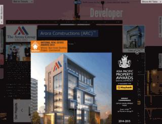 aroraandassociates.com screenshot