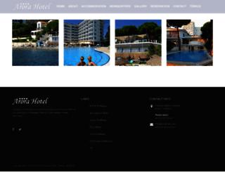 arorahotel.com screenshot