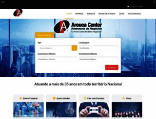 aroucacenter.com.br screenshot