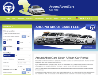 aroundaboutcars.com screenshot