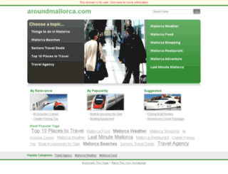 aroundmallorca.com screenshot