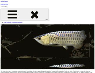 arowana-king.net screenshot