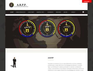 arpp-romanian-intel.com screenshot