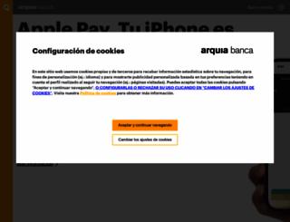 arquia.es screenshot