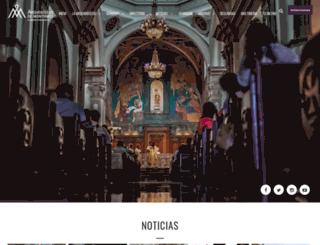arquidiocesismty.org screenshot