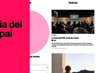 arquinfad.org screenshot