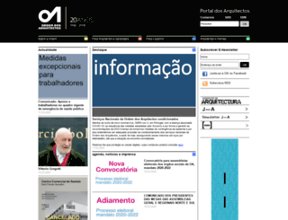 arquitectos.pt screenshot