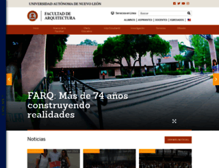 arquitectura.uanl.mx screenshot