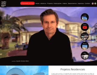arquitetoaquiles.com.br screenshot