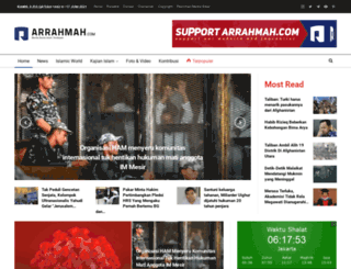 arrahmah.com screenshot