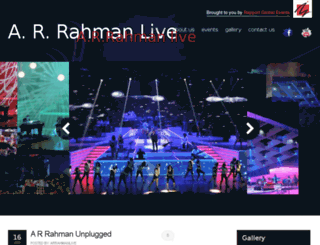 arrahmanlive.com screenshot