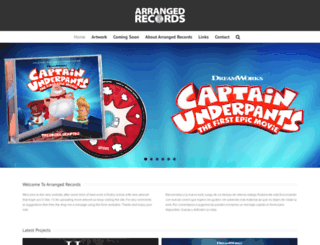 arrangedrecords.com screenshot