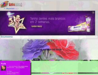 arranjosemmeiadeseda.arteblog.com.br screenshot