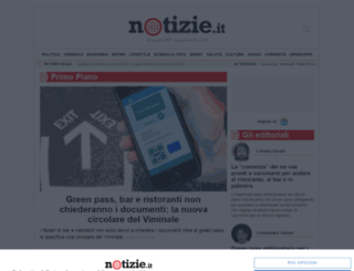 arredamento.notizie.it screenshot