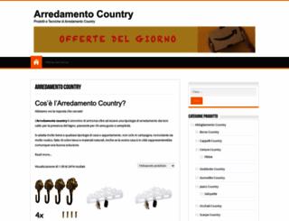 arredamentocountry.it screenshot