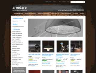 arredare.co.uk screenshot